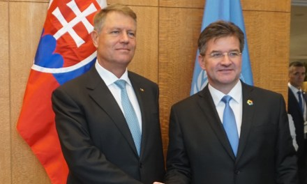 Meeting with President of Romania
