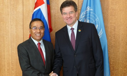 Meeting with Foreign Secretary of Nepal