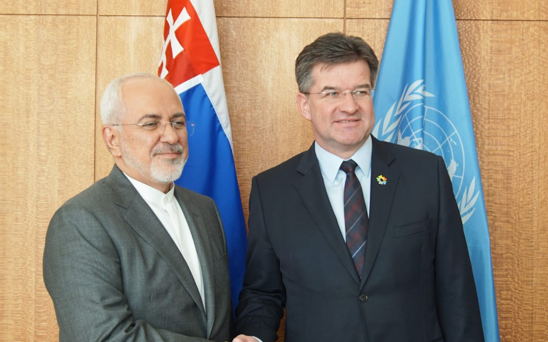 Meeting with the Minister for Foreign Affairs of the Islamic Republic of Iran