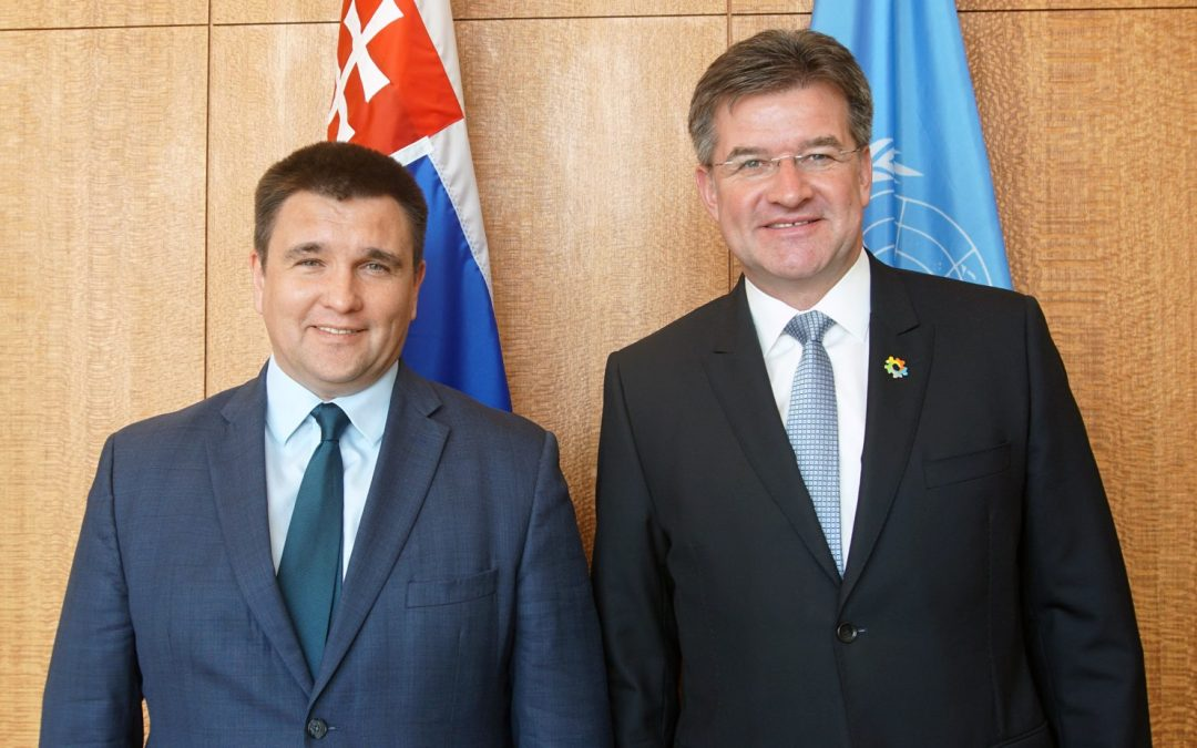 Meeting with Foreign Minister of Ukraine