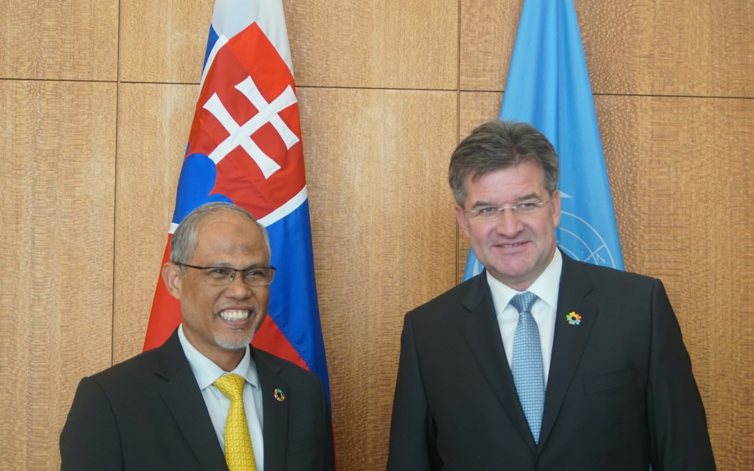 Meeting with the Minister for the Environment and Water Resources of Singapore