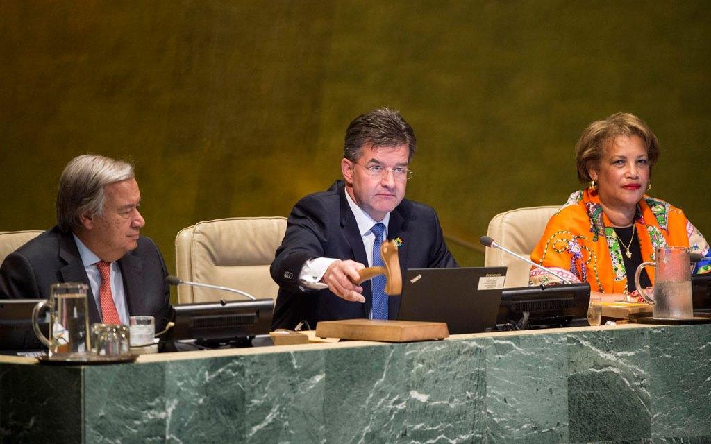 L'Assemblée générale des Nations Unies donne le coup d'envoi de sa 72ème session