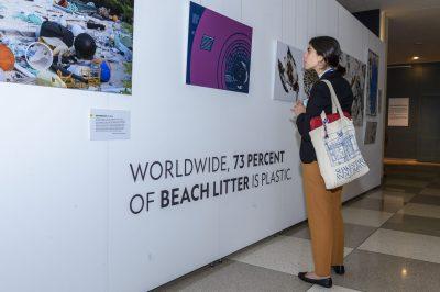 Exhibit Opening: Planet or Plastic?