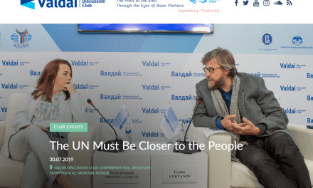 The UN Must Be Closer to the People says President of the General Assembly