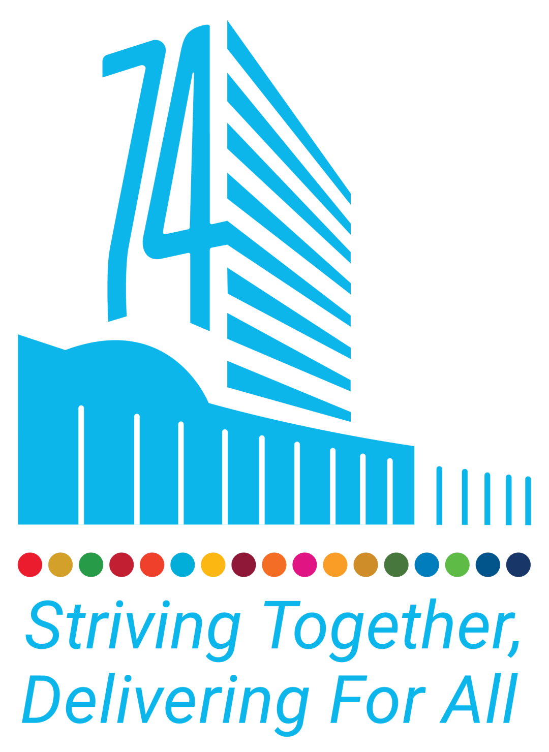 UN General Assembly 74th Session Logo