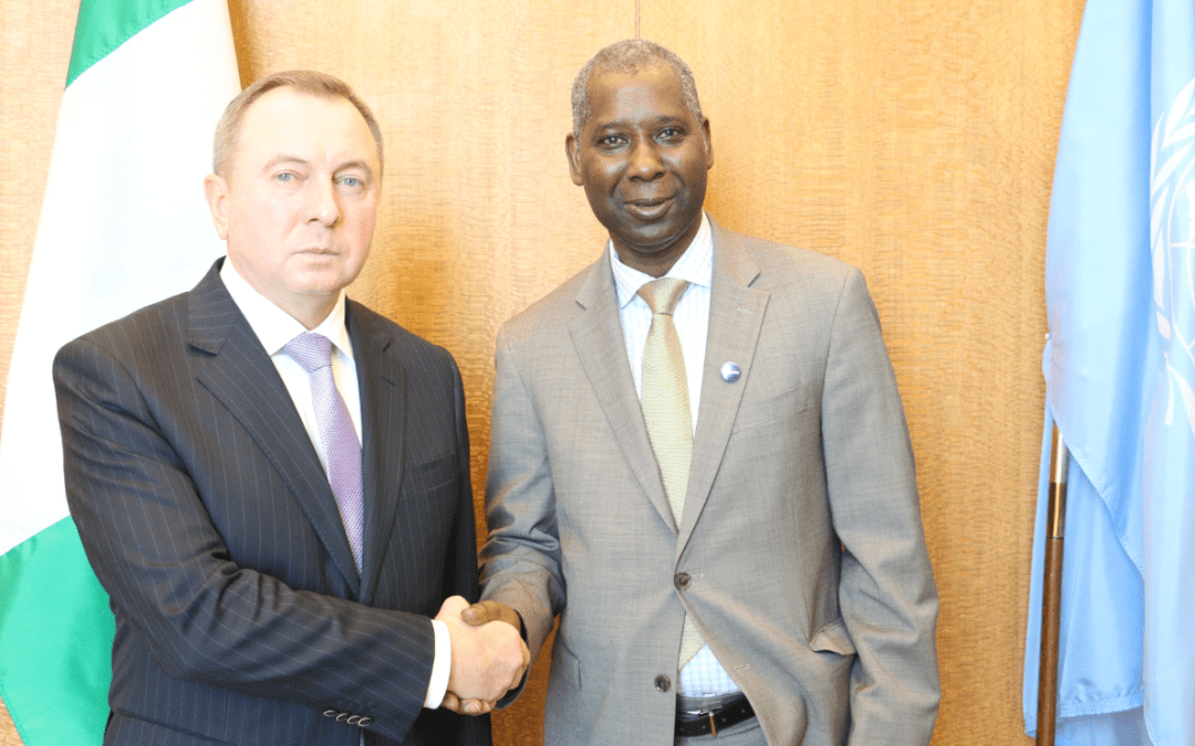 READOUT: meeting with the Minister of Foreign Affairs of Belarus