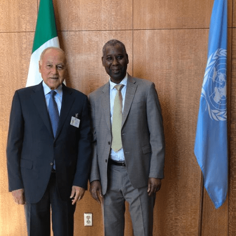 READOUT: meeting with the Arab League Secretary-General