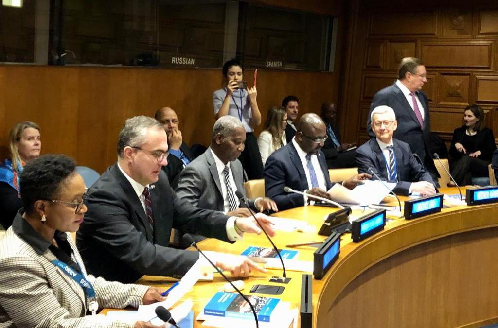 """High Level Panel and Roundtable Discussion on """"The United Nations and Security Sector Reform: Between Policy and Practice"""""""