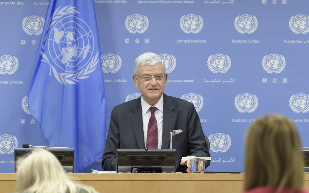 PRESS CONFERENCE BY PRESIDENT OF THE GENERAL ASSEMBLY