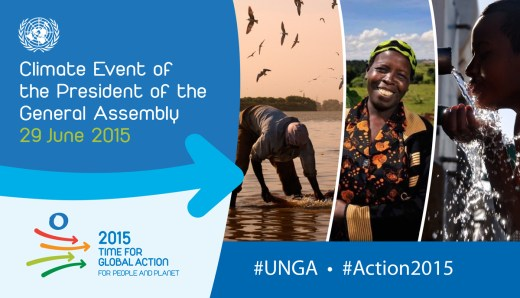 Climate Event of the President of the General Assembly - 29 June 2015