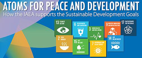 Haga clic en la imagen para ver cómo el OIEA contribuirá a los Objetivos de Desarrollo Sostenible