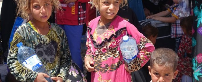 أطفال عراقيون في الموصل