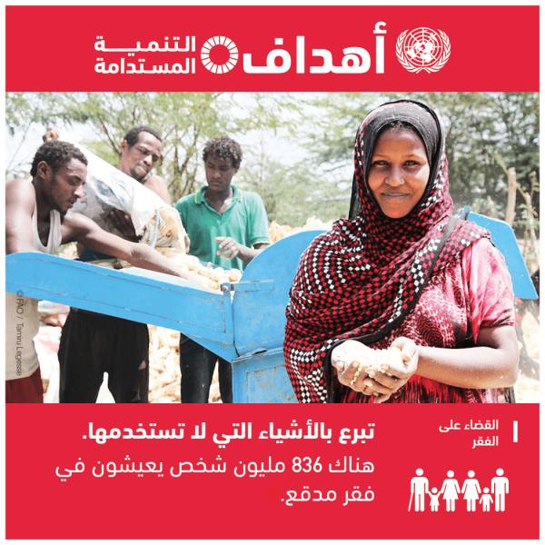 الهدف1: القضاء على الفقر