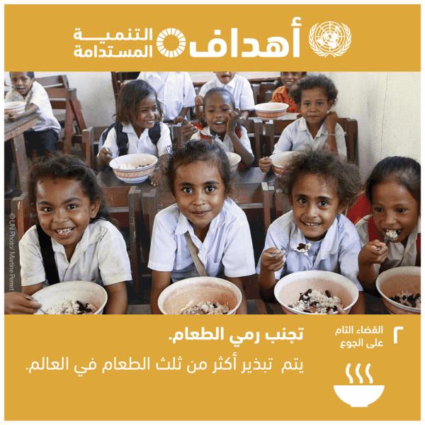 الهدف2: القضاء التام على الجوع