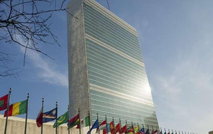 مبنى الأمانة العامة بمقر الدائم للأمم المتحدة.