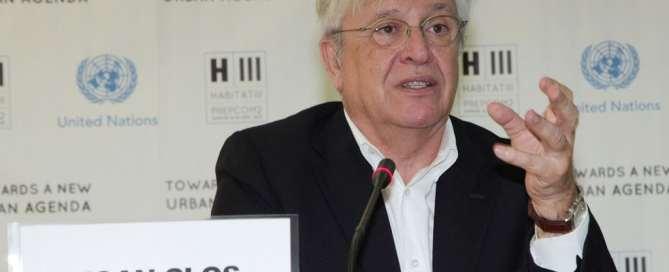 oan Clos, director ejecutivo de ONU Habitat. Foto de archivo> Julius Mwelu