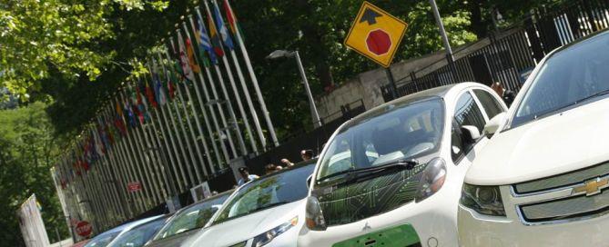 Los vehículos de conducción automatizada pueden ayudar a reducir el número de accidentes viales. Foto de archivo: ONU/JC McIlwaine