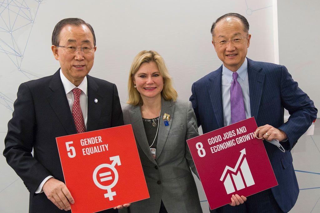 Глава ООН в Давосе