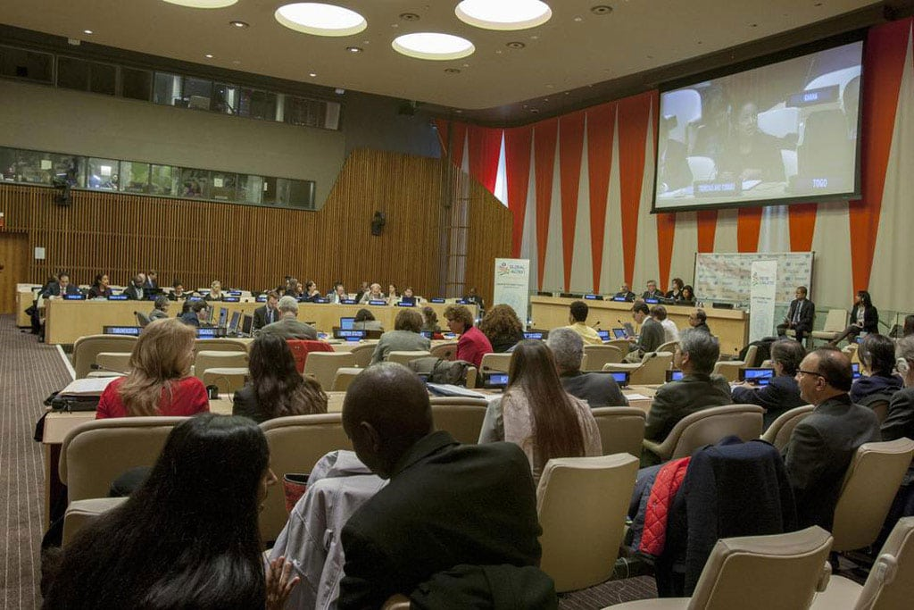 Photo: Wide view of the Economic and Social Council (ECOSOC).