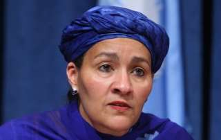 Amina Mohammed, Special Adviser to the Secretary-General for Post-2015 Development Planning. UN Photo/ Devra Berkowitz