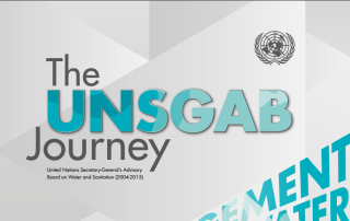 "Photo: ""The UNSGAB Journey"" report, released 18 November 2015."