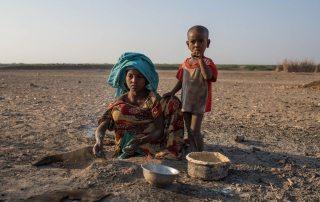 Photo: Nine-year-old Zahara Ali cooks breakfast in a rural village in the Dubti Woreda, Afar Region, Ethiopia.