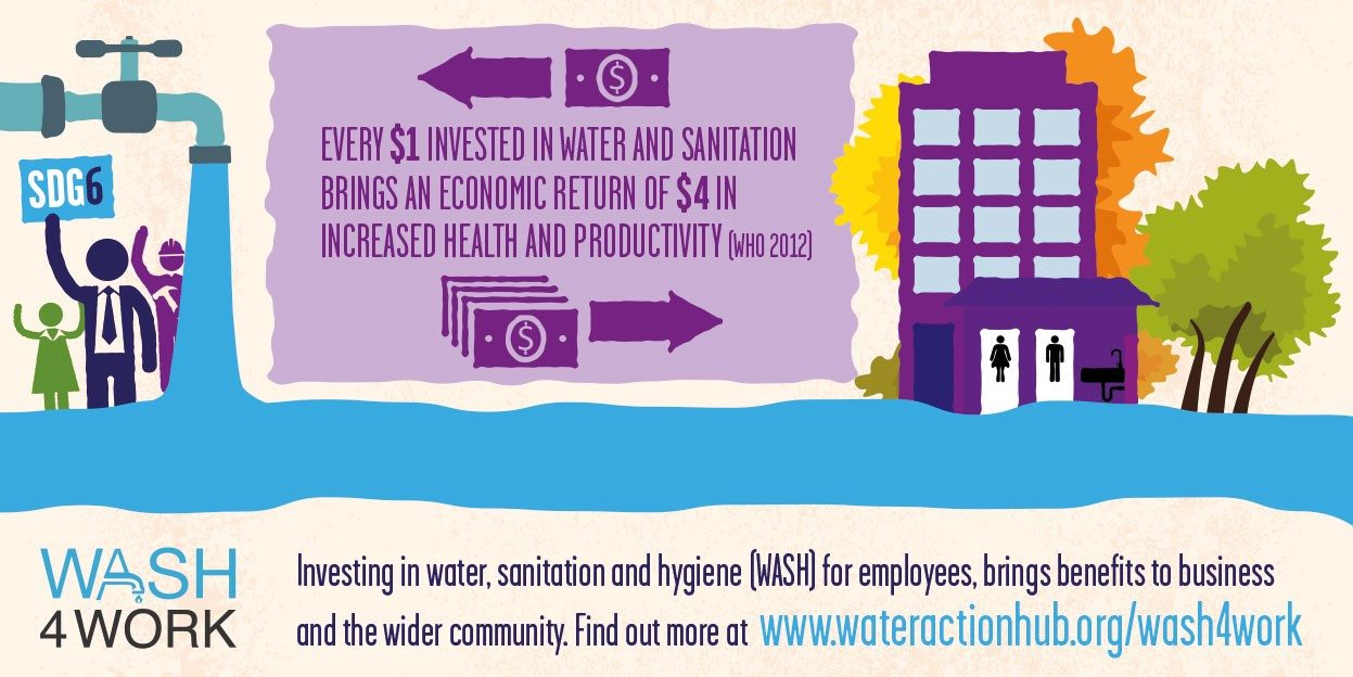 dbc44116241 Businesses show SDG support with new  WASHforWork initiative