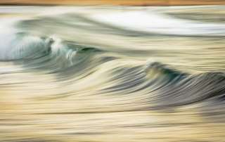 Photo: Waves rolling in to Manly Beach, Australia.
