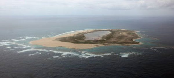 Photo: The marine reserve Papahanaumokuakea in Hawaii.