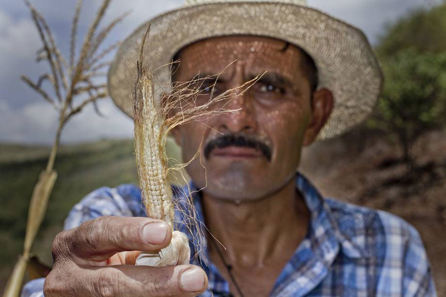 Photo: Small-scale family farmers and rural communities are highly vulnerable to extreme weather events.