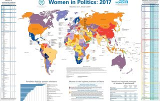Infographic: Women in Politics 2017 map