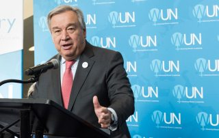 Photo: Secretary-General António Guterres.