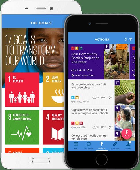 SDGs in action app