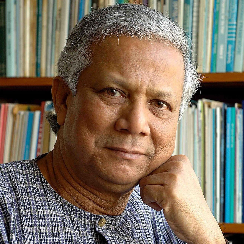 Photo of Professor Muhammad Yunus