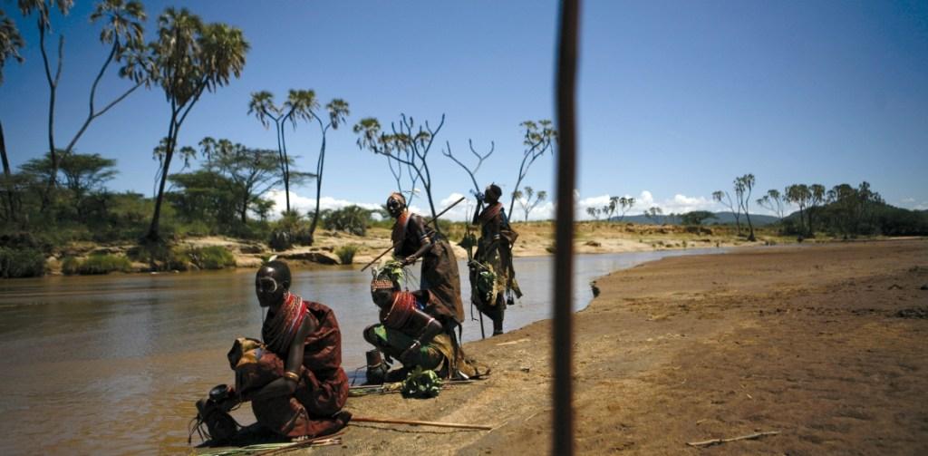 Members of the Samburu tribe in Kenya. Samburu women pastoralists are affected by climate change. Getty Images /Kitra Cahana