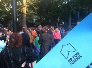 #UpForSchool rally in Washington Square Park
