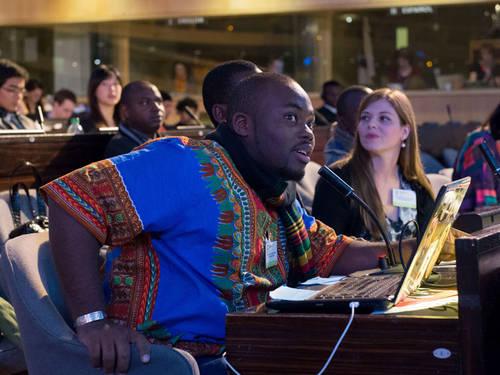 Photo credit: 8th UNESCO Youth Forum 2013 © UNESCO / C. Bailleul