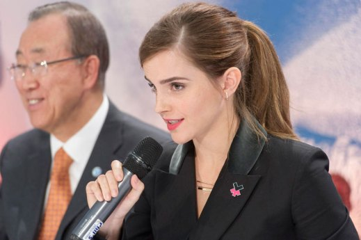 Press Conference – announcement of HeForShe IMPACT 10x10x10 Pilot Programme