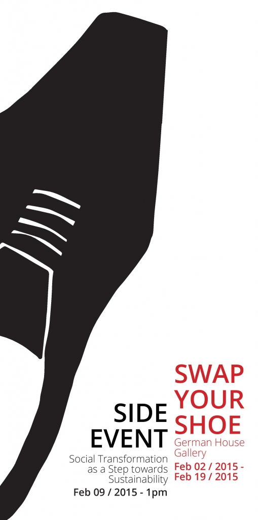 Side Event and Exhibition - SWAP YOUR SHOES