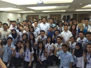 Envoy visits students at Zamboanga University