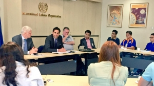 UN Envoy on Youth meeting with Youth civil society representatives