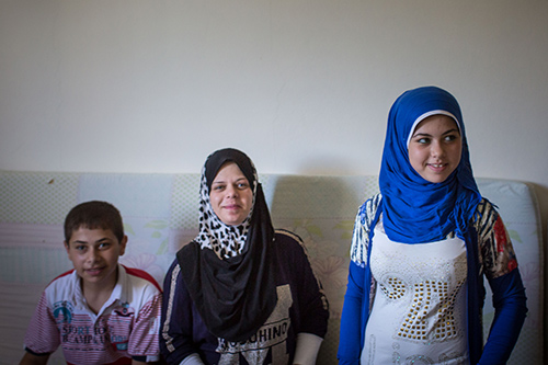 """I tell my friends that getting married early will deprive them of their childhood,"" said Raneem Abras, 16, a Syrian refugee in Lebanon's Chouf Mountains. She works with a youth programme to raise awareness of the harms of child marriage. © UNFPA Lebanon/Sima Diab"