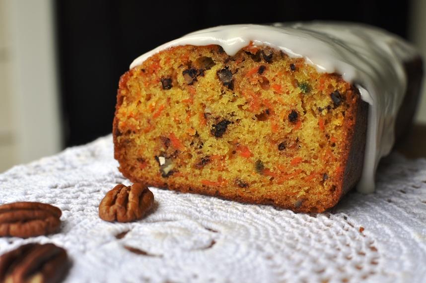 Budin de zanahorias (Carrot cake)