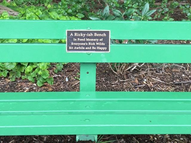 A Ricky-Ish Bench, Golden Gate Park, San Francisco