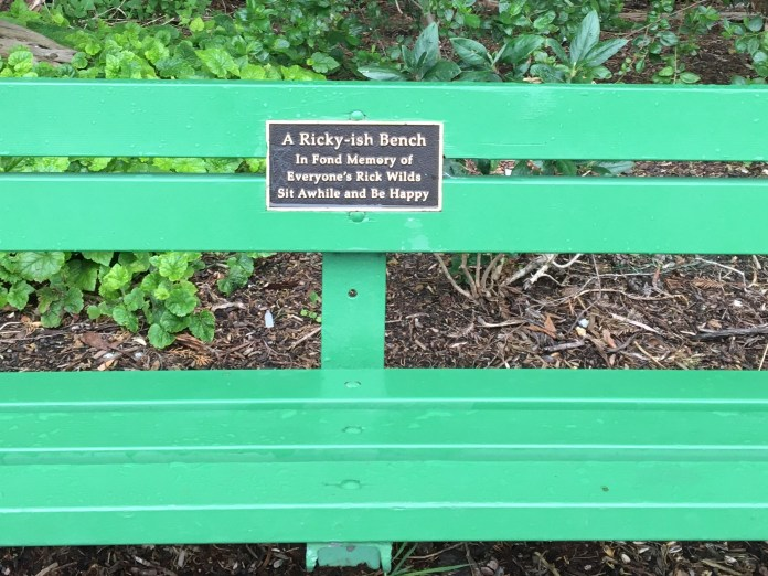 A Ricky-Ish Bench, Golden Gate Park, San Francisco