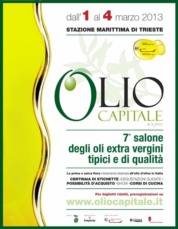 Olio Capitale: gli extra vergini di qualità si danno appuntamento a Trieste