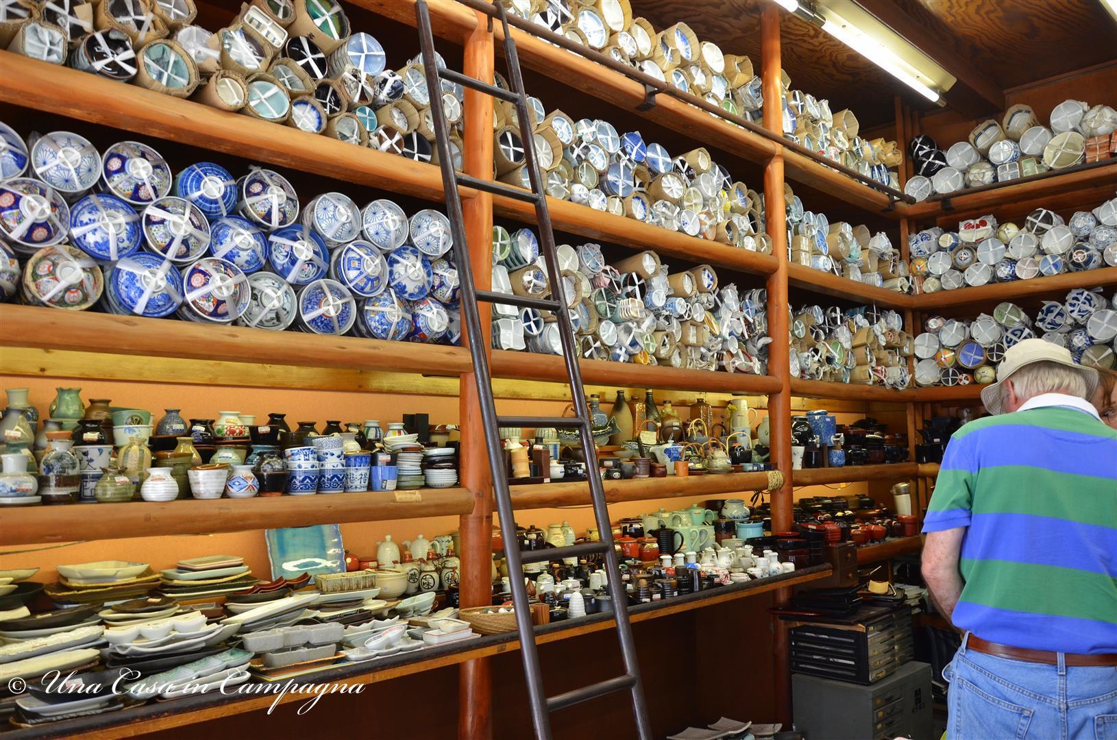 Shopping a Kappabashi- Una casa in Campagna - dieci cose da fare a tokyo dMri