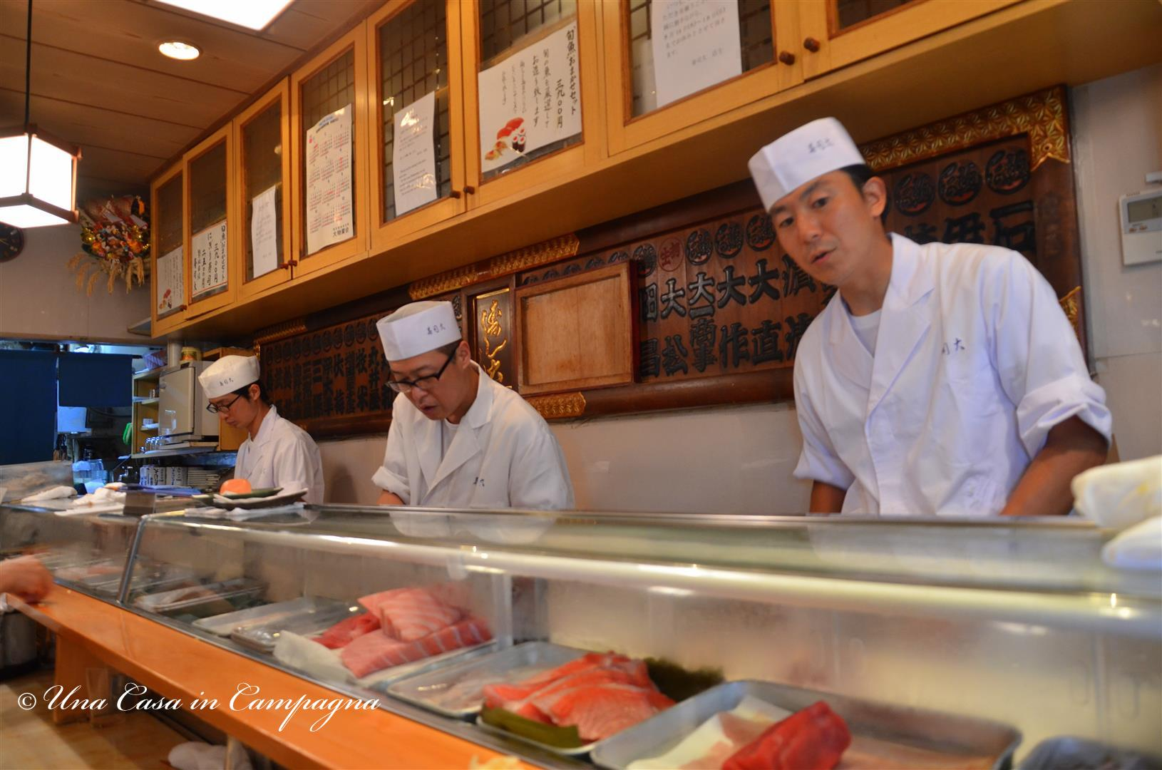 2.Colazione da Sushi Dai - 10 cose da fare a Tokyo - Una casa in campagna