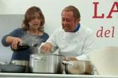 Franca Rizzi e Daniele Persegani durante una delle edizioni passate di friuli Doc - Foto di Massimo Pol