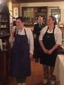 Antonia Klugmann e Cottali presentano i propri piatti durante la cena organizzata alla Lokanda Devetak